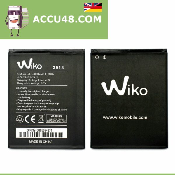 wiko 3913 battery