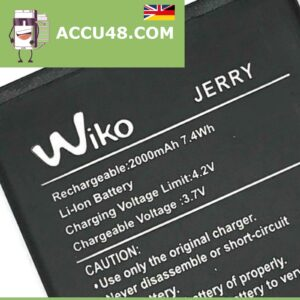 wiko jerry battery