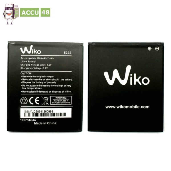 QiAN-SiMAi-1-st-cke-Neue-100-hohe-qualit-t-5222-batterie-F-r-Wiko-5222-0