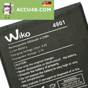 wiko 4901 accu battery