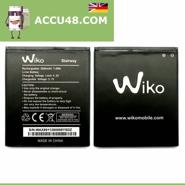 wiko accu stairway