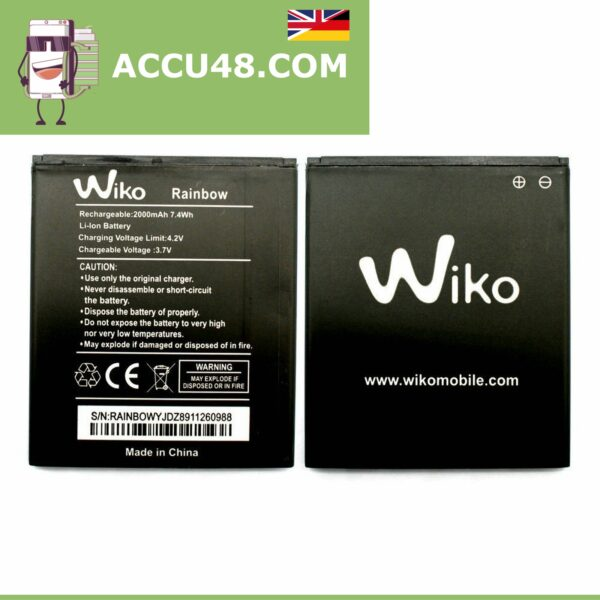 wiko rainbow battery