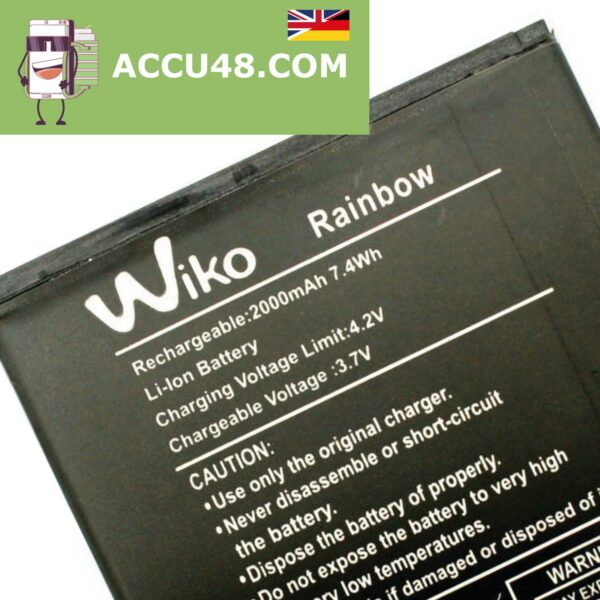 wiko rainbow battery accu