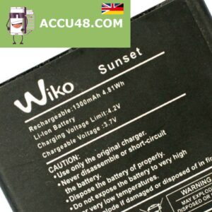 wiko sunset battery