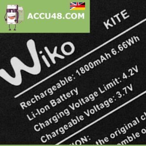 Wiko Kite battery